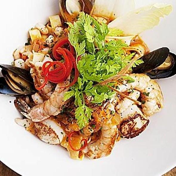 Seafood Pasta - Restaurant 1640, Québec, QC