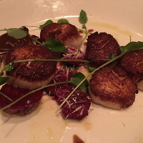 Georgia Bank Scallops - The Optimist, Atlanta, GA