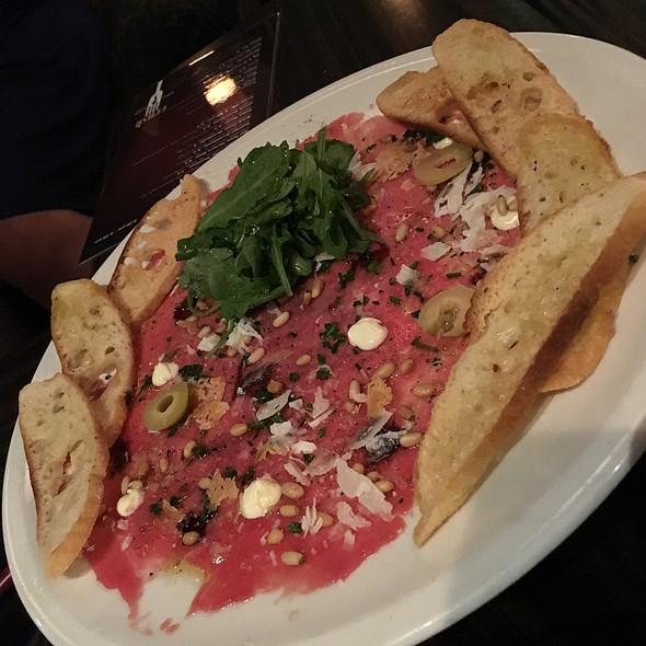 Beef Carpaccio - Crush - Chico, Chico, CA