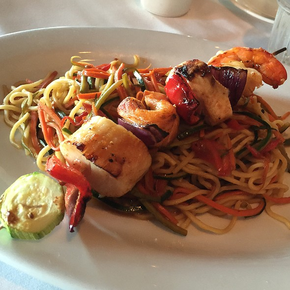 Seafood kabob - Pacifica Seafood Restaurant, Palm Desert, CA