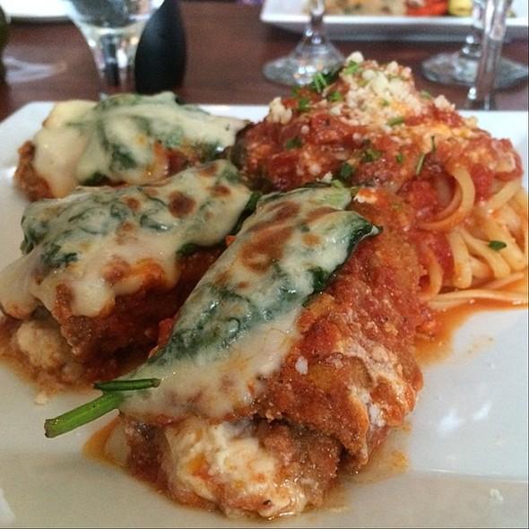 Eggplant Florentine - Gennaro's Restaurant & Catering – Princeton, Princeton, NJ