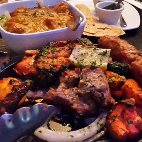 Assortment Of Grilled Meat - Bombay Tandoor, Vienna, VA