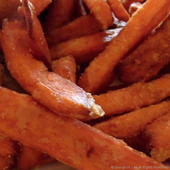 Sweet potato fries - Kells Irish Restaurant & Pub, Portland, OR