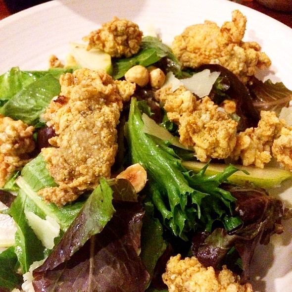 Salad With Fried Oysters - Borgne, New Orleans, LA