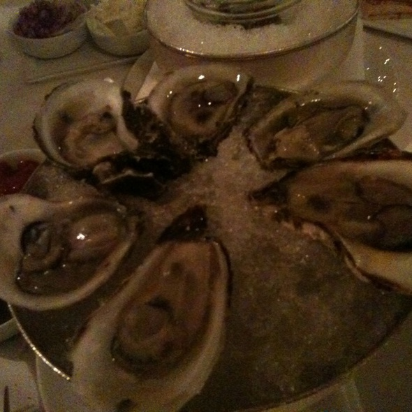 Oysters - Caviar Russe, New York, NY