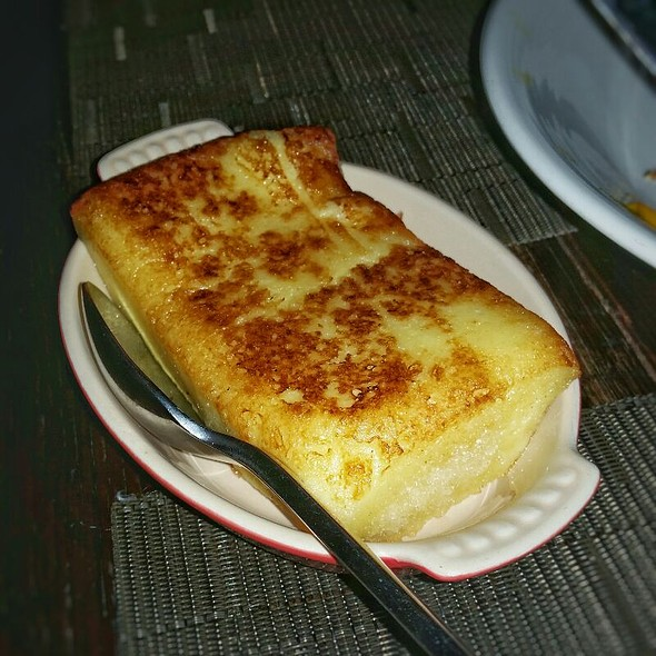 Bone Marrow Bread Pudding - The Macintosh, Charleston, SC