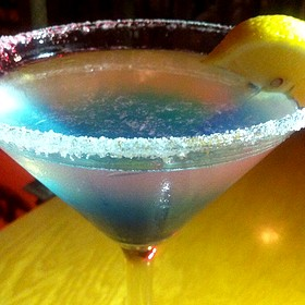Blueberry Lemon Drop - Brickworks American Bistro + Pizza, Palm Springs, CA