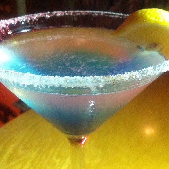 Blueberry Lemon Drop - Brickworks American Bistro + Spirits, Palm Springs, CA