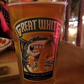 Lost Coast Great White Beer - Brickworks American Bistro + Spirits, Palm Springs, CA