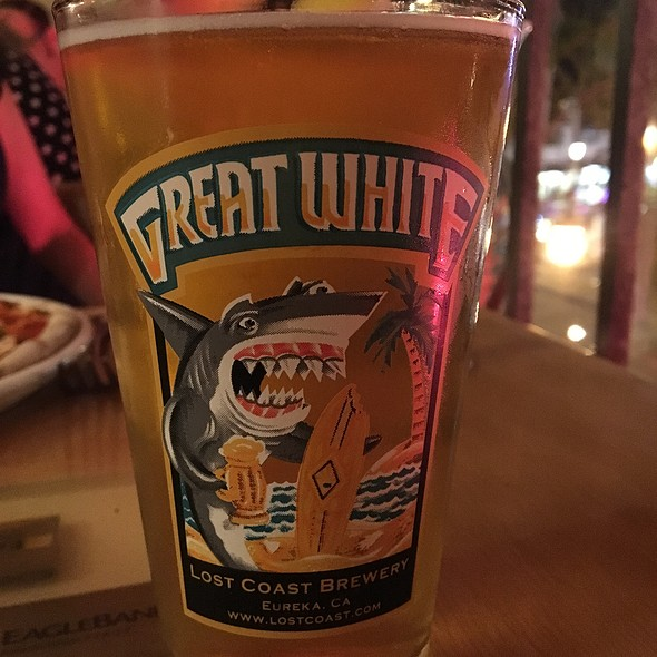 Lost Coast Great White Beer - Brickworks American Bistro + Pizza, Palm Springs, CA