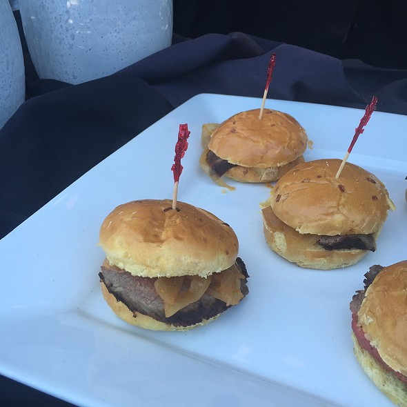 Petite Filet Mignon Sandwiches - Morton's The Steakhouse - Downtown DC, Washington, DC
