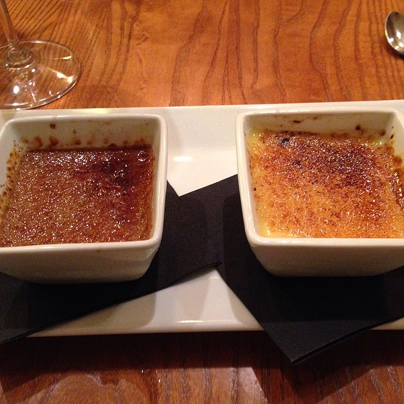 Creme Brulee Duo - Pairings Bistro, Bel Air, MD