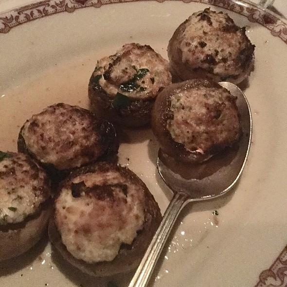 Stuffed Mushroons - Gene and Georgetti, Chicago, IL