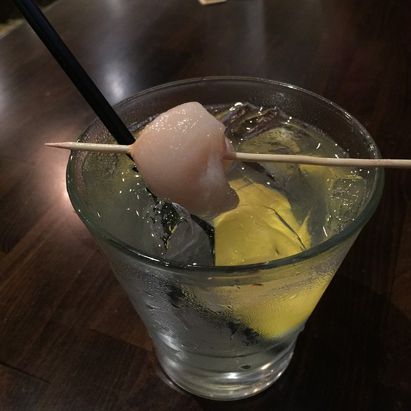 Lychee Cocktail - Giovanni Pastrami, Honolulu, HI