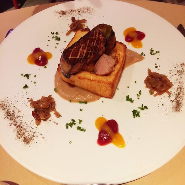 Pain Foie Gras - Brasserie Française Chez Jules, Québec, QC