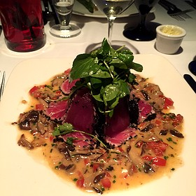 Ahi tuna - Chandlers Steakhouse, Boise, ID