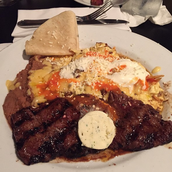 Migas Con Chirizo Add Steak - Red Drum Restaurant and Bar, Mount Pleasant, SC
