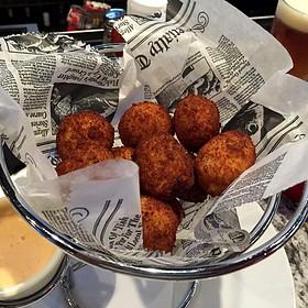 Sauerkraut Balls - Frankie Bones Restaurant & Lounge - Hilton Head Island, Hilton Head Island, SC