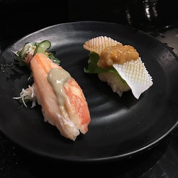 Crab And Squid Sushi - Sushi Sasabune Hawaii, Honolulu, HI