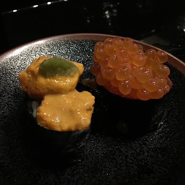 Ikura and Uni  - Sushi Sasabune Hawaii, Honolulu, HI