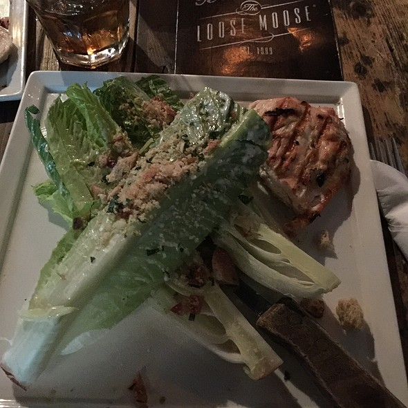 Chicken Ceaser Salad - The Loose Moose Tap & Grill, Toronto, ON