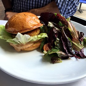 Jumbo Lump Crabcake Sandwich - Bliss, Philadelphia, PA