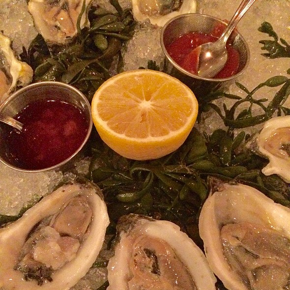 Oysters - Keens Steakhouse, New York, NY