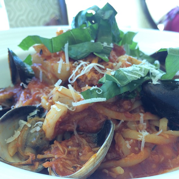 Seafood Linguine - 53 by the Sea, Honolulu, HI