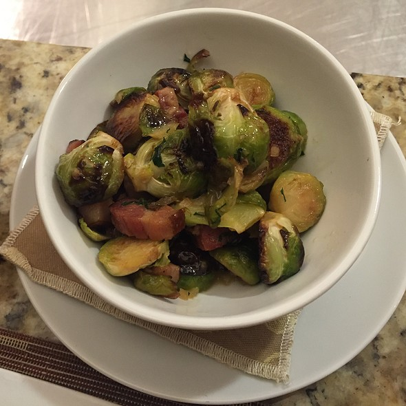 Brussels Sprouts - JORY Restaurant at The Allison Inn & Spa, Newberg, OR
