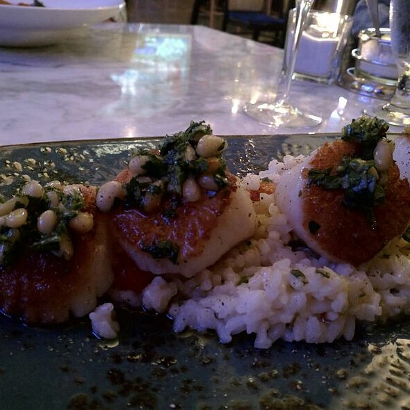 Scallops With Lemon Butter Risotto - 801 Fish - Leawood, Leawood, KS