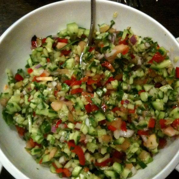 Israeli Salad - Hummus Bar & Grill, Tarzana, CA