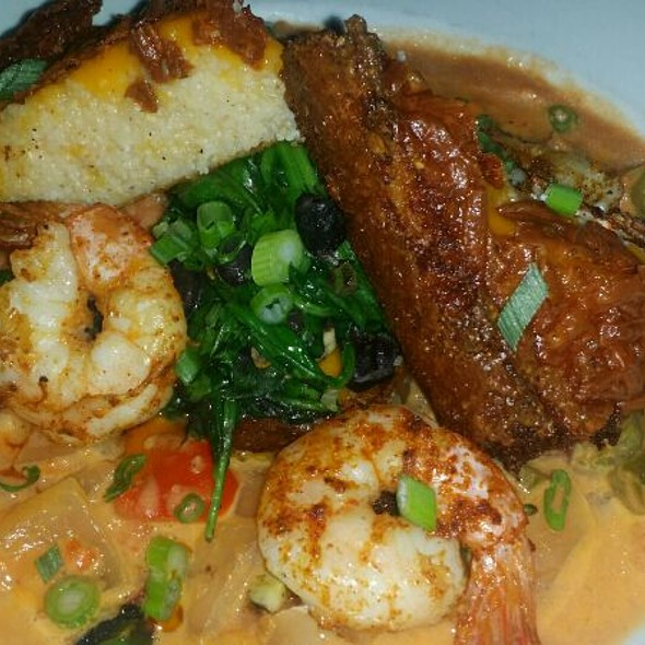 Shrimp and Grits - Darryl's Corner Bar and Kitchen, Boston, MA