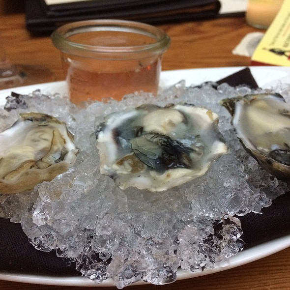 Oysters - Urban Farmer Portland, Portland, OR