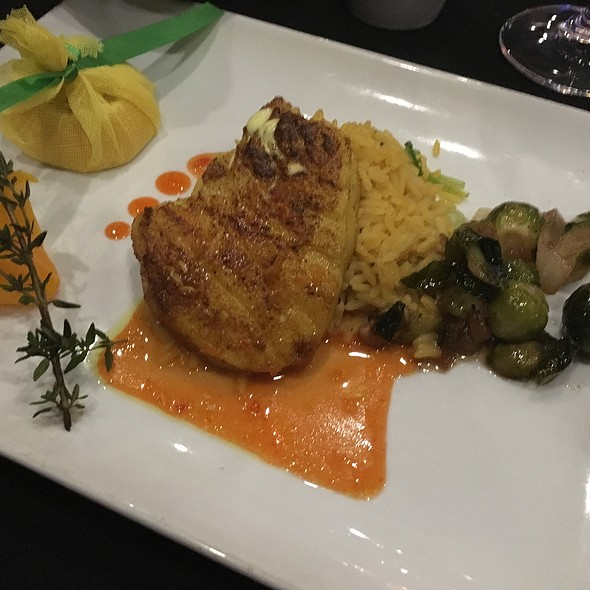 Turmeric Rubbed Sea Bass - Cuvee Wine & Bistro, Ocala, FL