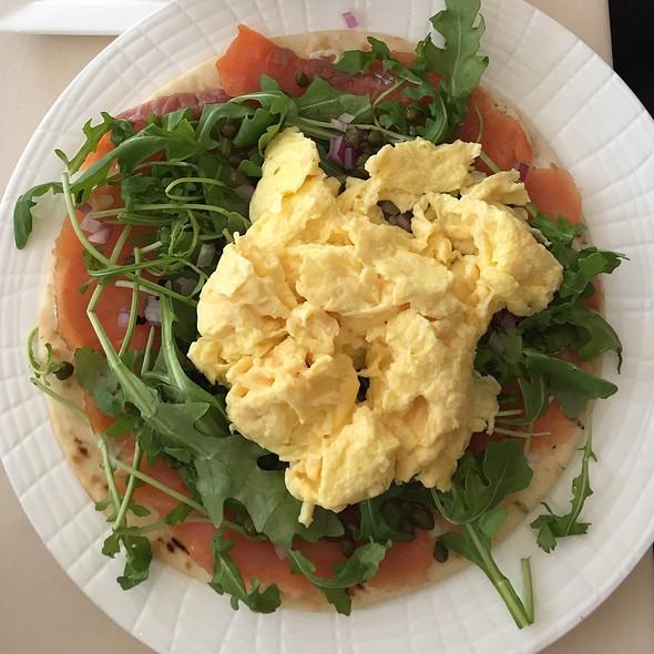 Lox And Eggs Flatbread - Museum Cafe, Oklahoma City, OK