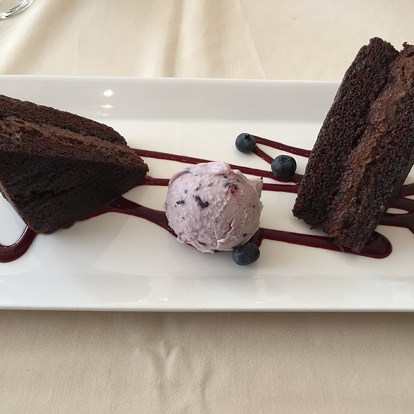 Chocolate Cake - Museum Cafe, Oklahoma City, OK