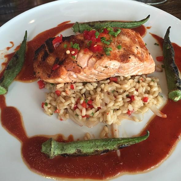 Grilled Faroe Island Salmon - Citrus Restaurant, Orlando, FL