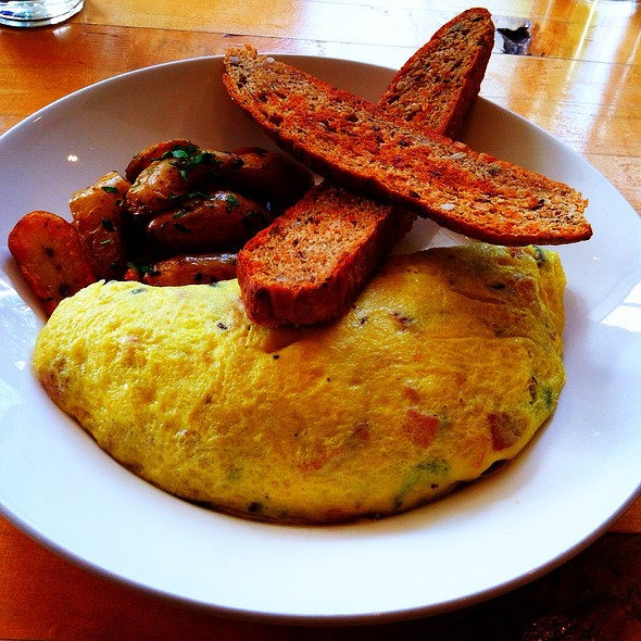Omelette - Kingsbury Street Cafe, Chicago, IL