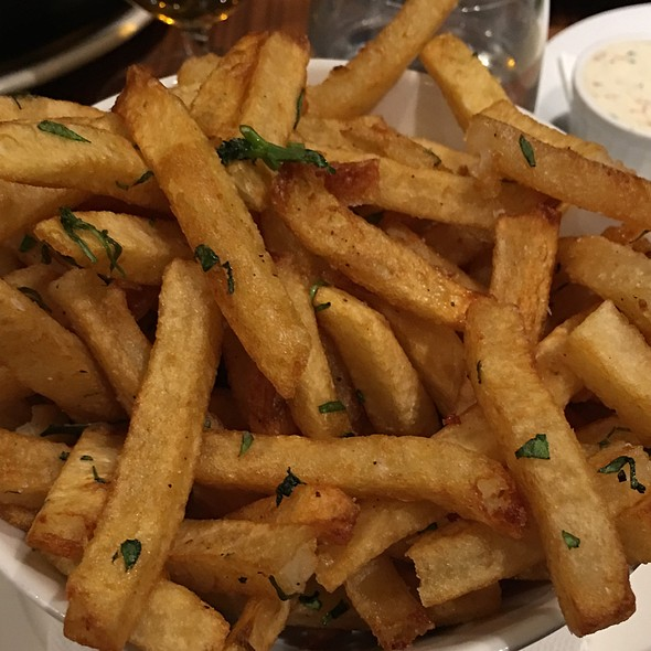 Duck Fat French Fries - Jacobs & Co. Steakhouse, Toronto, ON