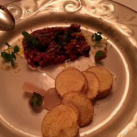Beef Tartare - The Bruce Hotel and Restaurant, Stratford, ON