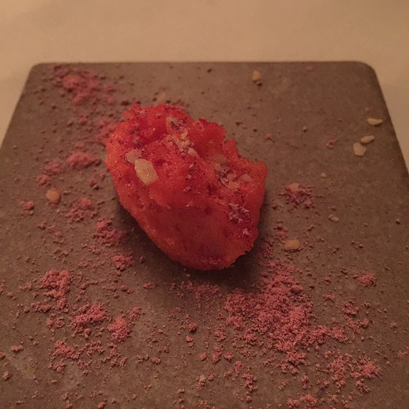 Strawberry Sorbet - The Bruce Hotel and Restaurant, Stratford, ON