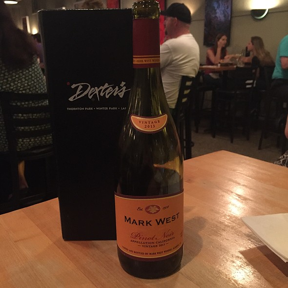 Mark West Pinot Noir - Dexters of Thornton Park, Orlando, FL