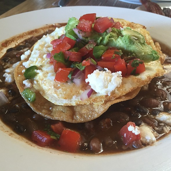 Three Bean Huevos Rancheros - BLD, Los Angeles, CA