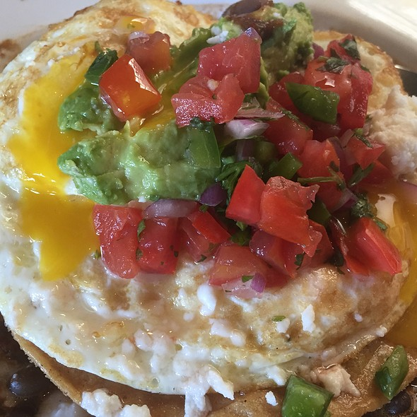 Egg Porn On Huevos Rancheros - BLD, Los Angeles, CA