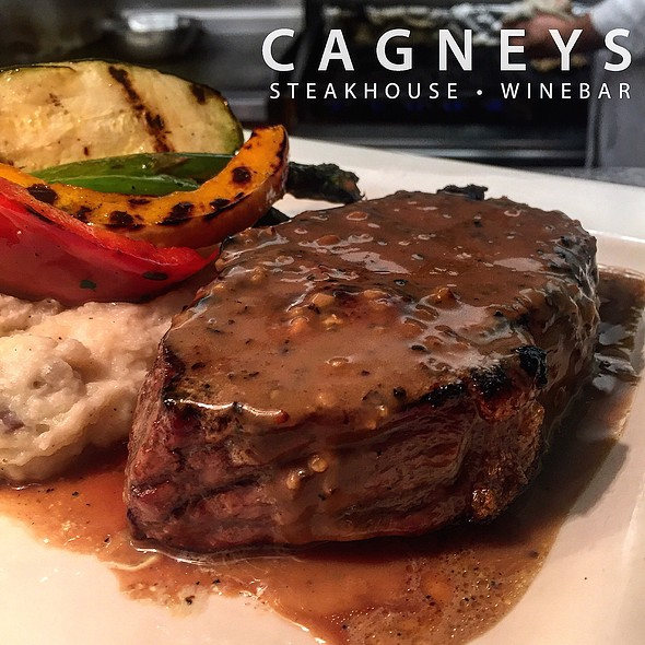 Peppercorn Steak - Cagneys, Mississauga, ON