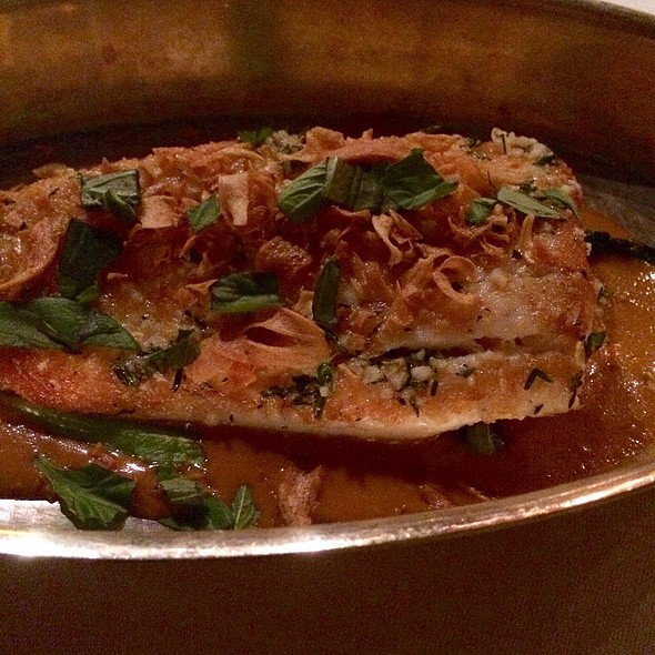 Roasted Filet Of Fluke With Red Curry - Restaurant Eve, Alexandria, VA