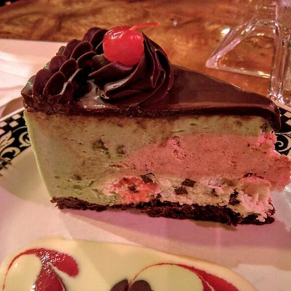 Spumoni Cannoli Cake - Filomena Ristorante, Washington, DC