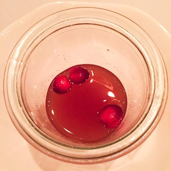 Cranberry Cider - Bacchanalia, Atlanta, GA