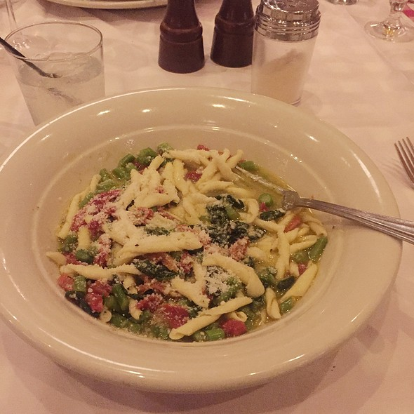 Chef Mann's Country-Style Pasta - Maggiano's - Boston, Boston, MA