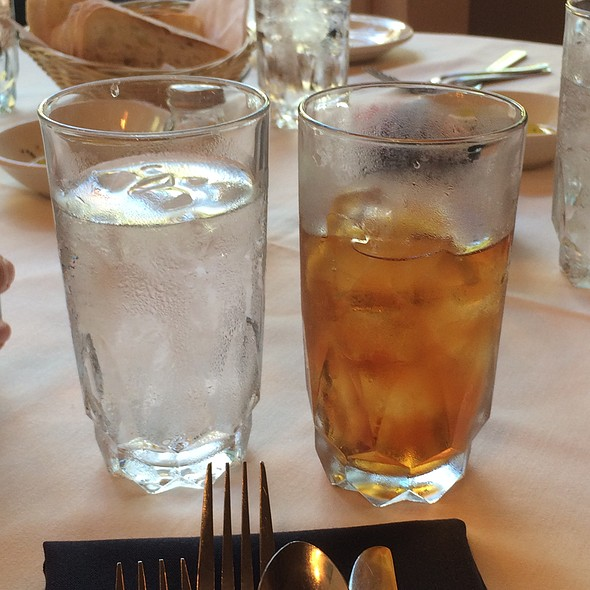 Unsweetened Iced Tea - Caffe Luna, Raleigh, NC